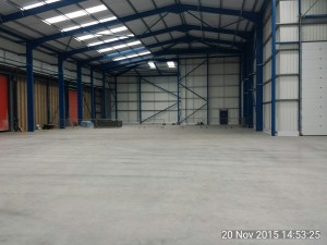 Industrial Unit Extension to Existing Facilities at Envases, Port Talbot - Value £1,000,000